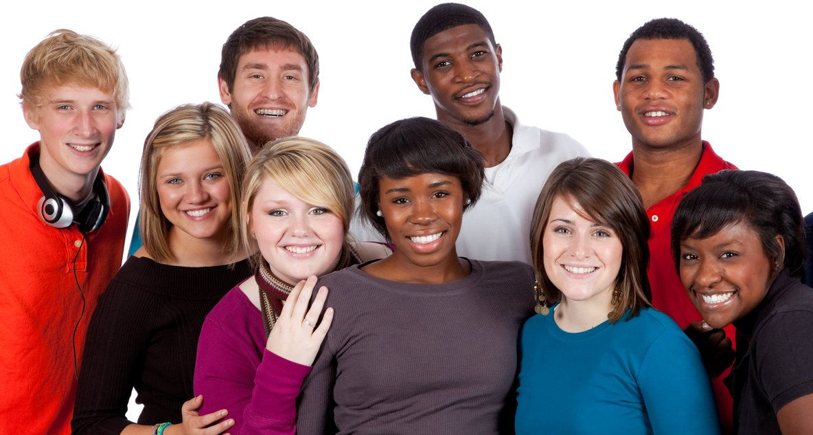 Multi - racial students