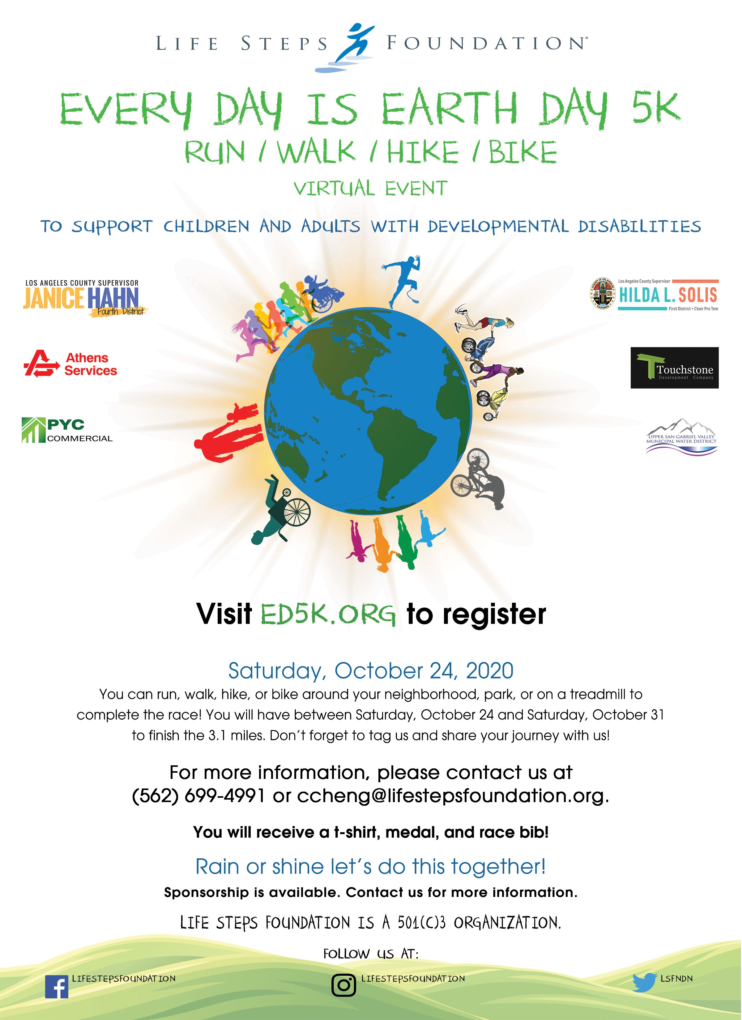 Every Day is Earth Day 5k 2020 (Virtual)