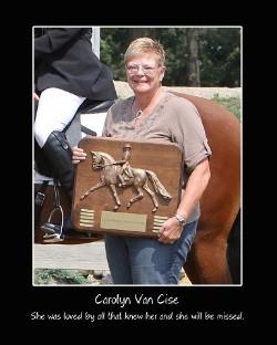TDF Announces New Carolyn Van Cise Memorial Fund