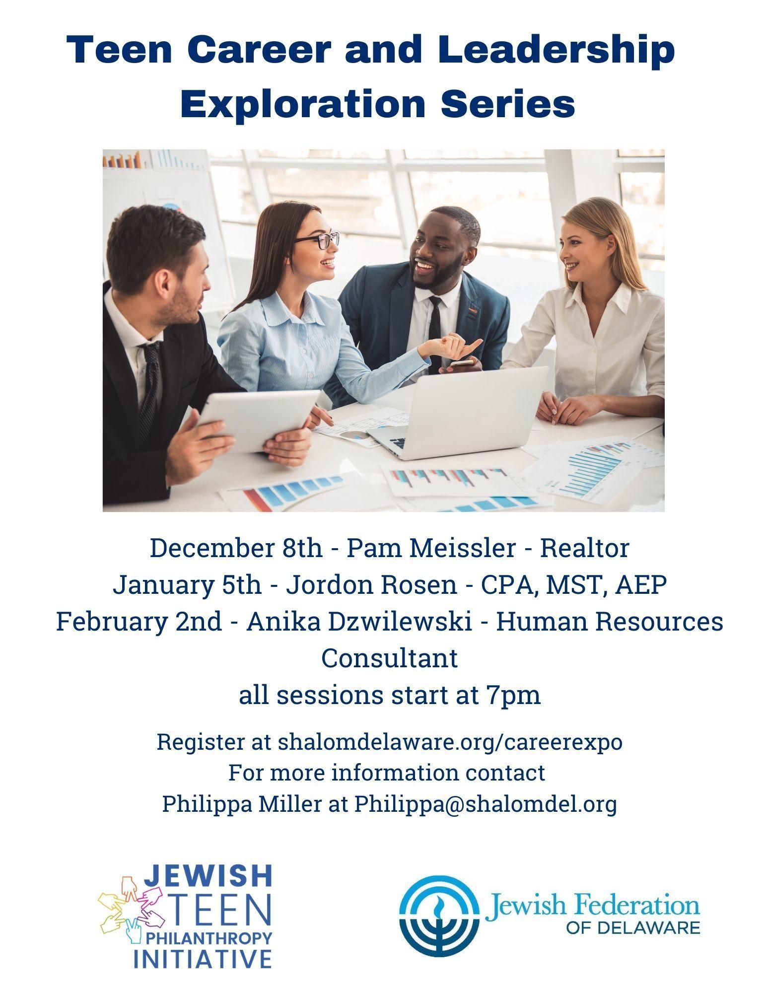 Teen Career and Leadership Exploration