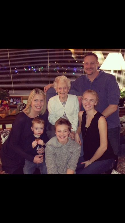 Newell Family - Christmas 2015 with Mam