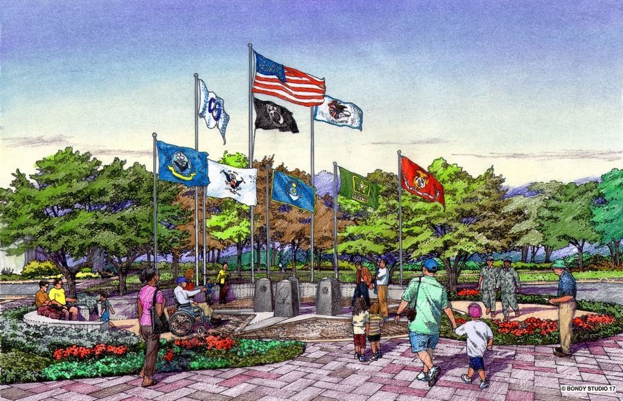 Foundation Fund Supports Military Service Memorial