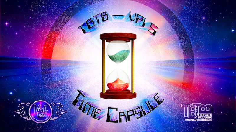 TBTB's VPI5: TIME CAPSULE – 2021. A picture of the VPI5: TIME CAPSULE poster with the TBTB logo in the bottom right corner of the poster.