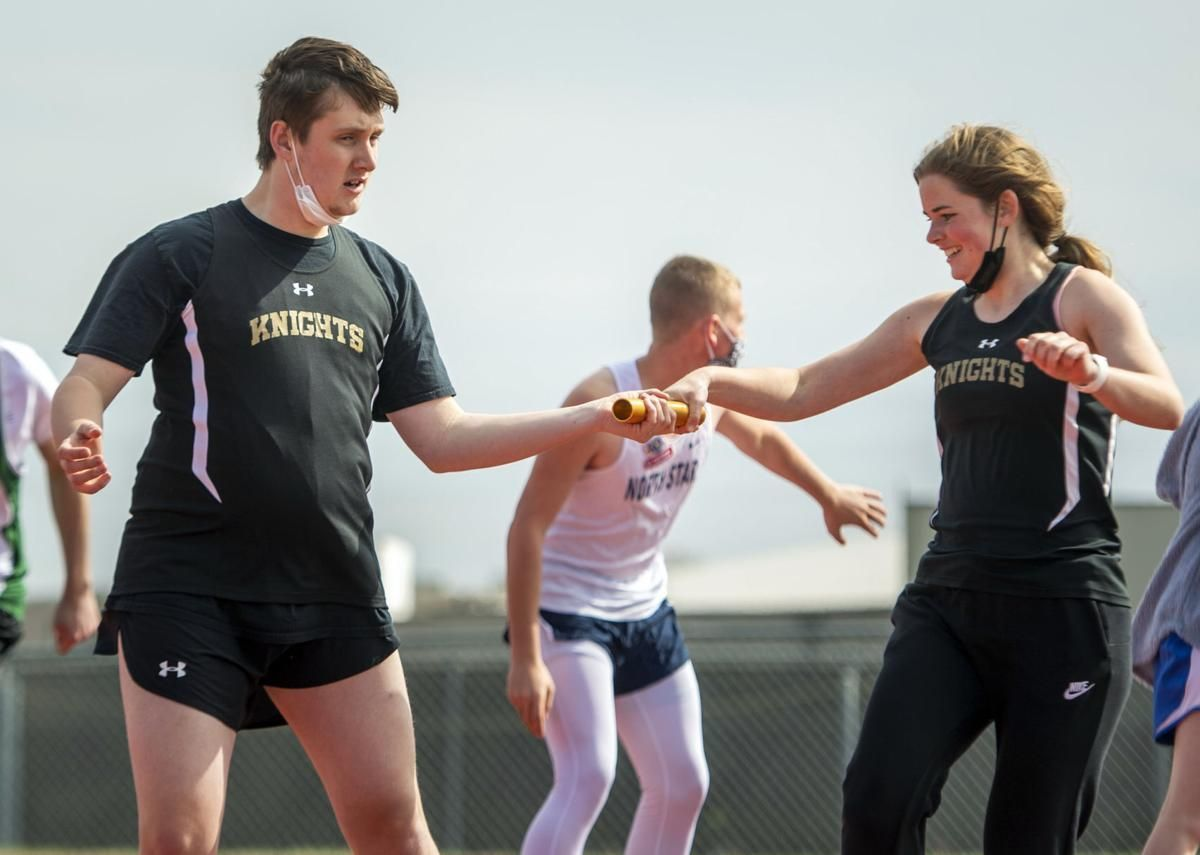 'Everyone's cheering each other on': Lincoln district hosts first unified track meet