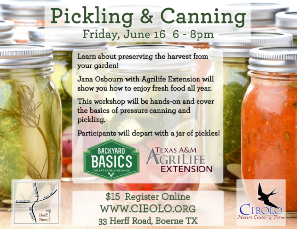 FARM:  Pickling & Canning