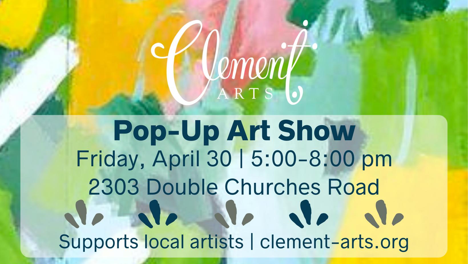 Pop-up Art Show!