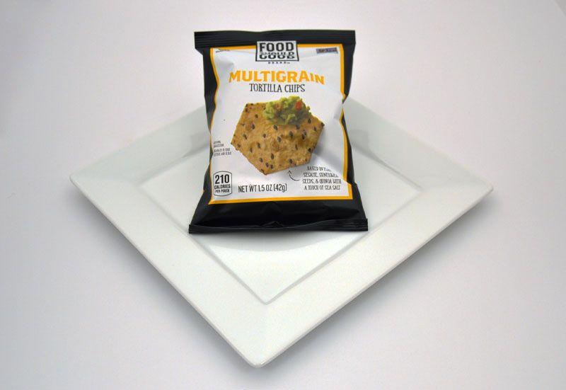 Multigrain tortilla chips