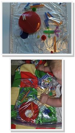 Baby Activity - Sensory Water Bag