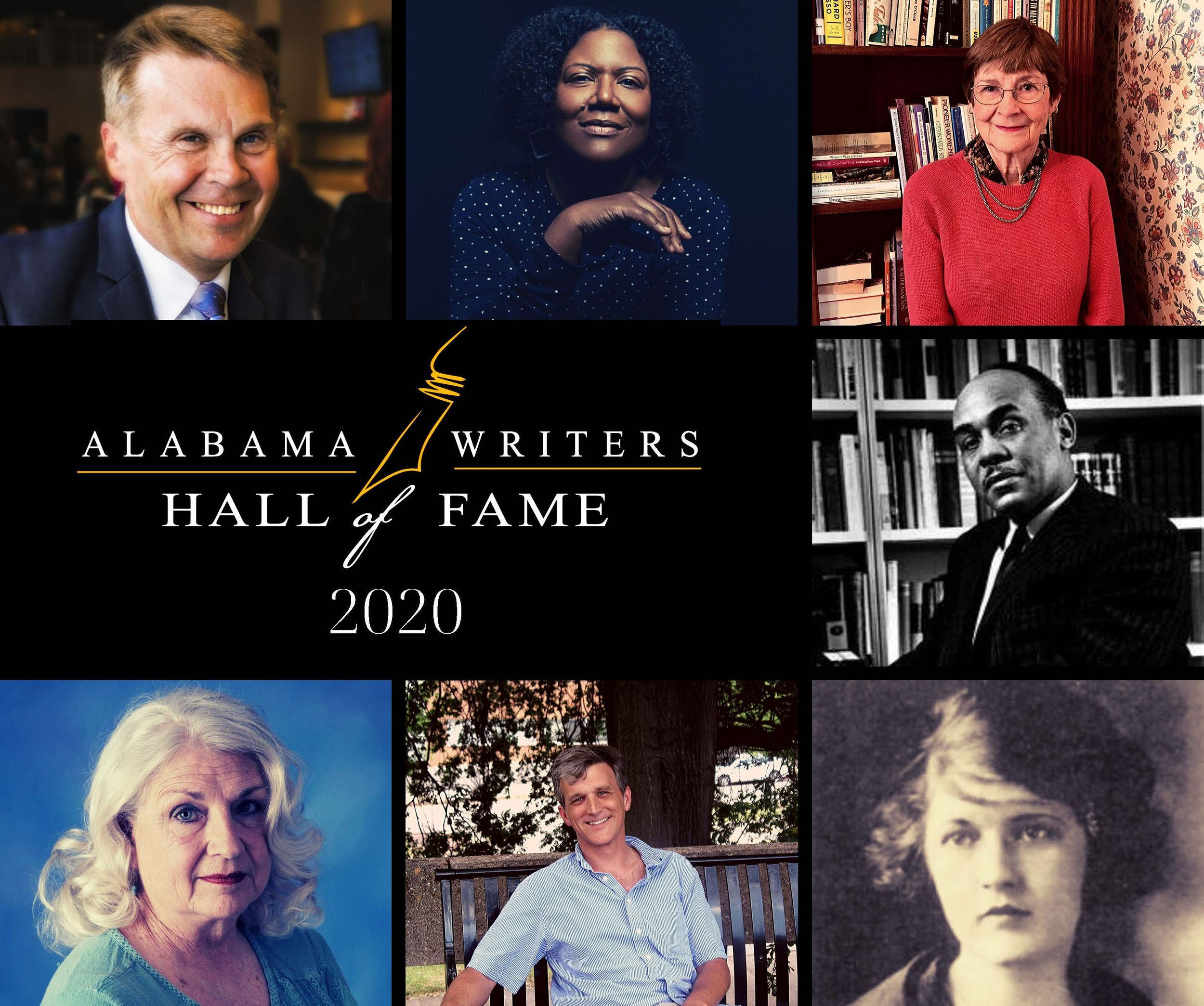 Alabama Writers Hall of Fame to Induct 7 in 2020