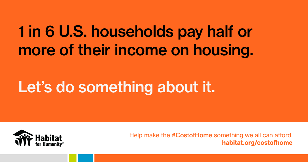 Habitat for Humanity aims to improve home affordability through new national advocacy campaign