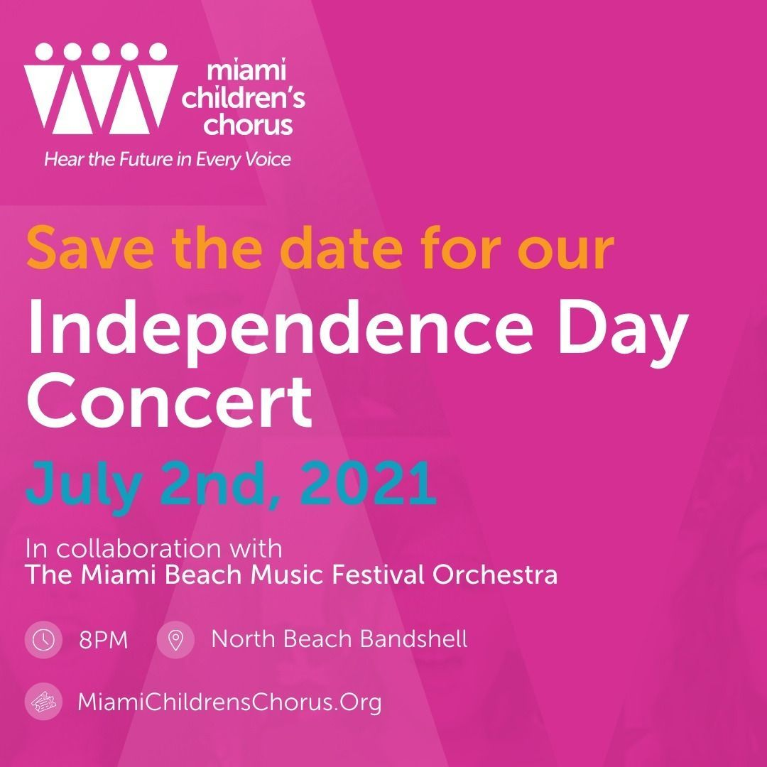 Save the Date: Independence Day Concert