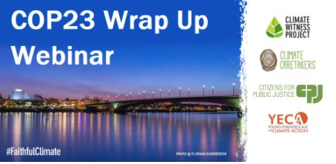 COP 23 Wrap Up Webinar