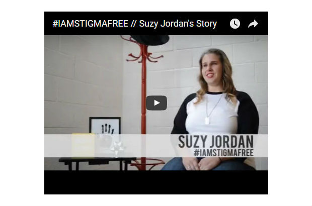 Suzy Jordan is bravely sharing her story and helping others.