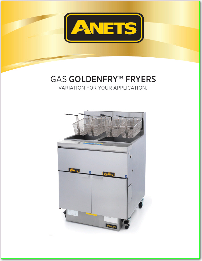 Anets Goldenfry Series Fryer Brochure