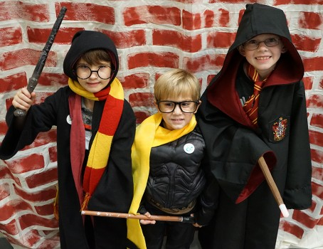 A Halloween Day at the Museum