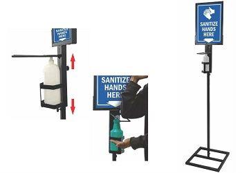 Elbow Sanitiser Stand