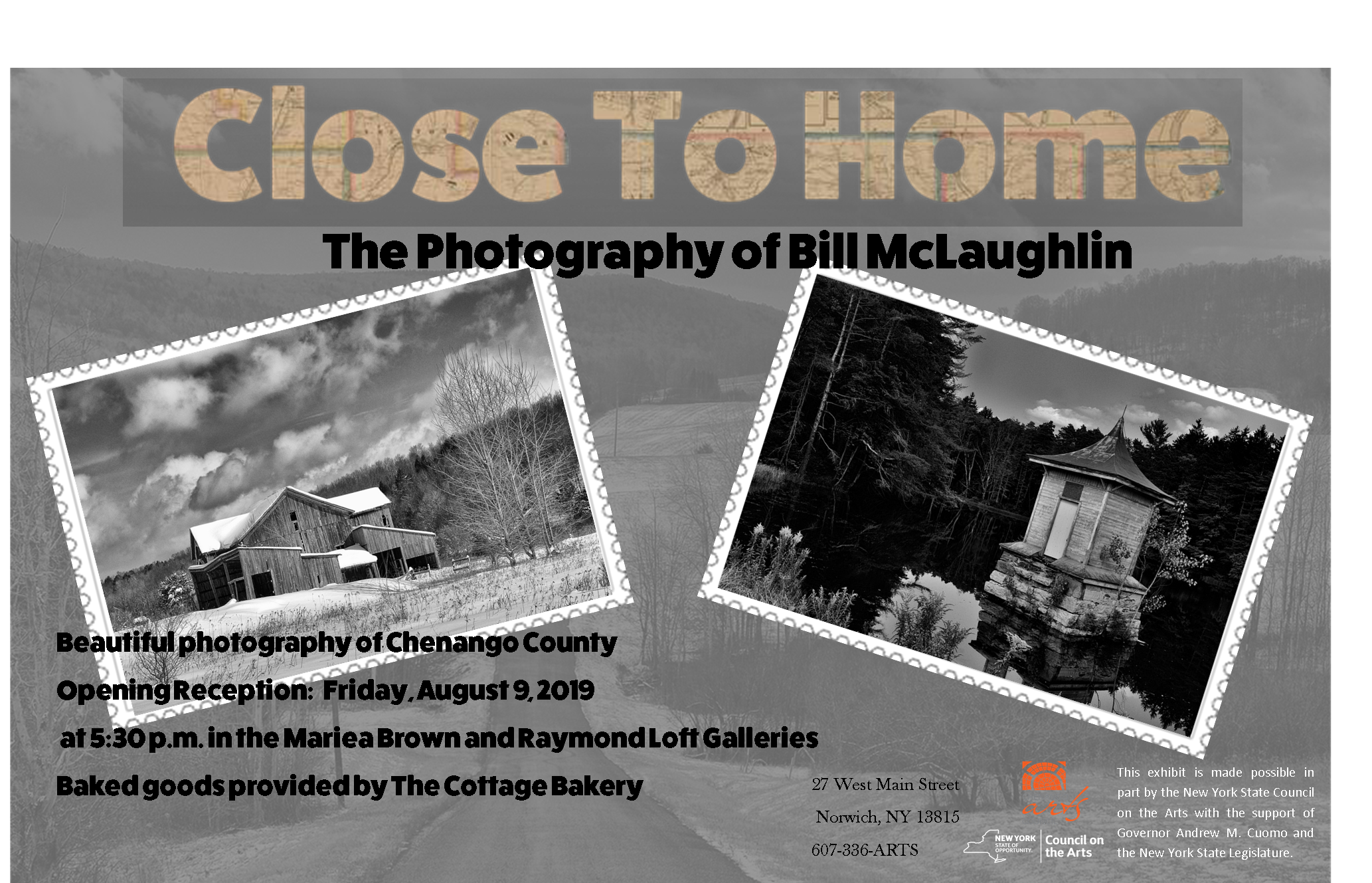 "Bill McLaughlin ""Close to Home"" Gallery Exhibit"