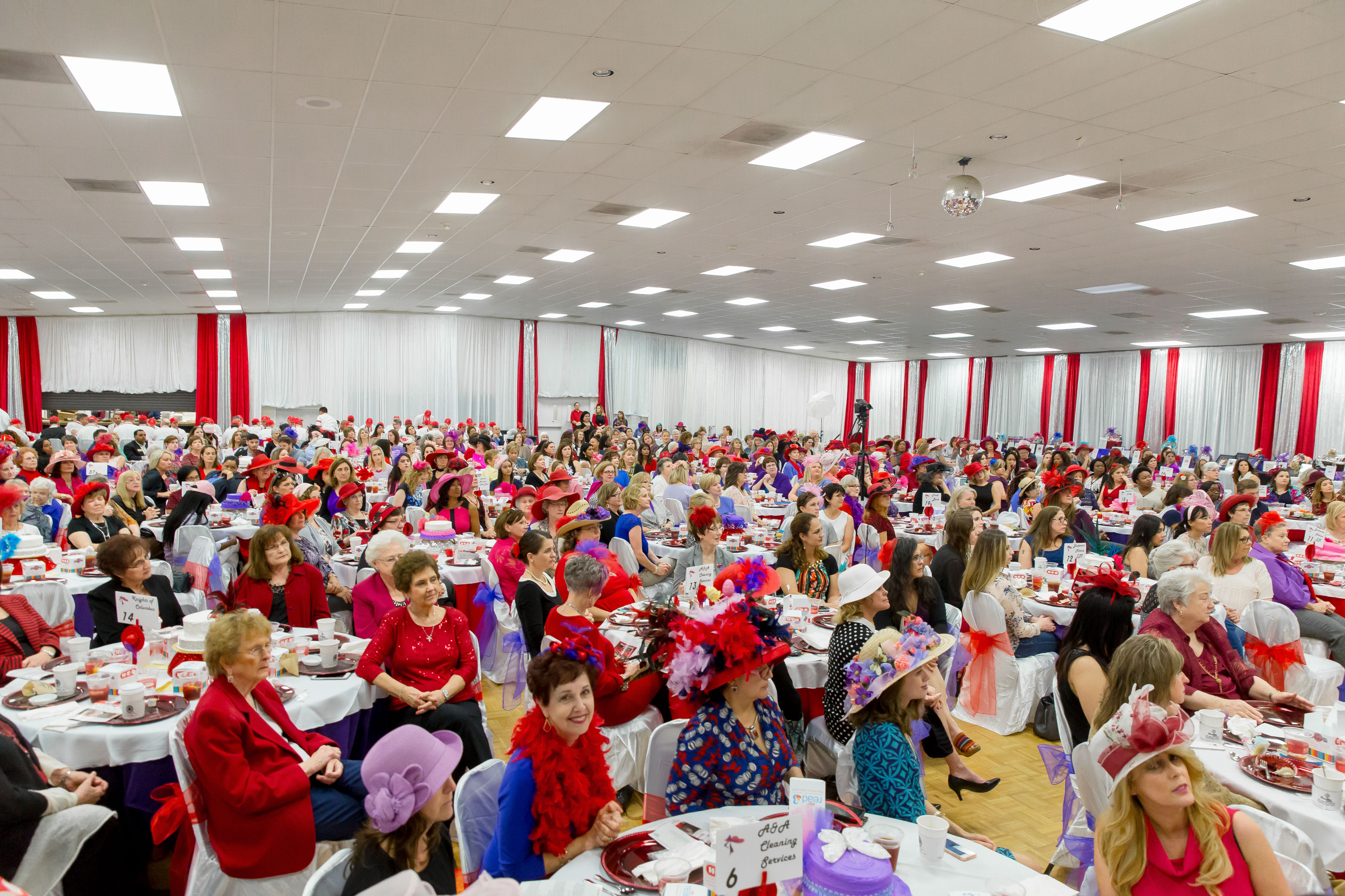 The Red Hat Literacy Luncheon