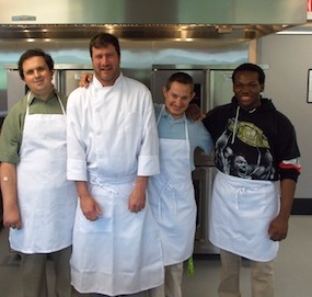 Chef Scott and program participants