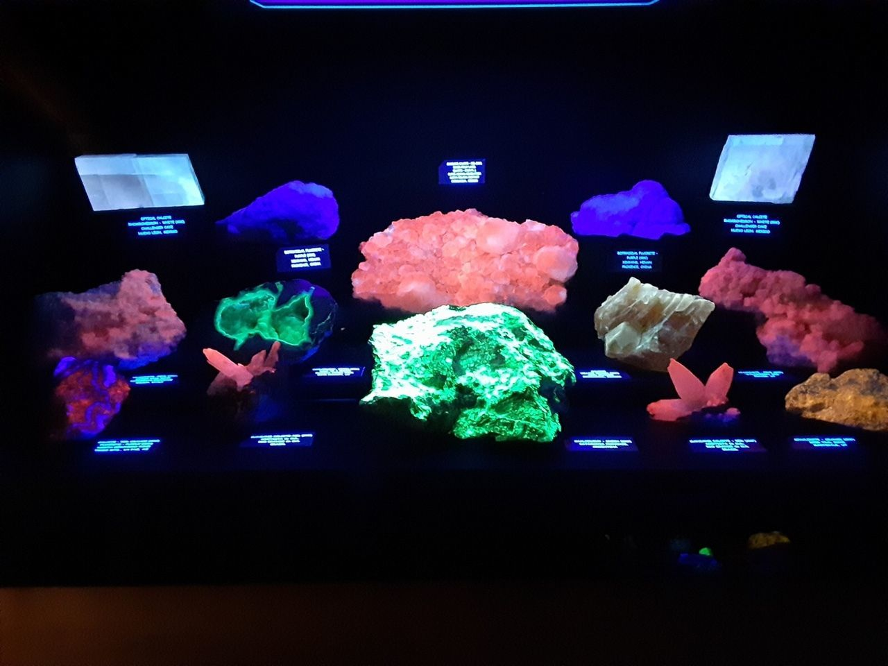 Fluorescent Mineral Room