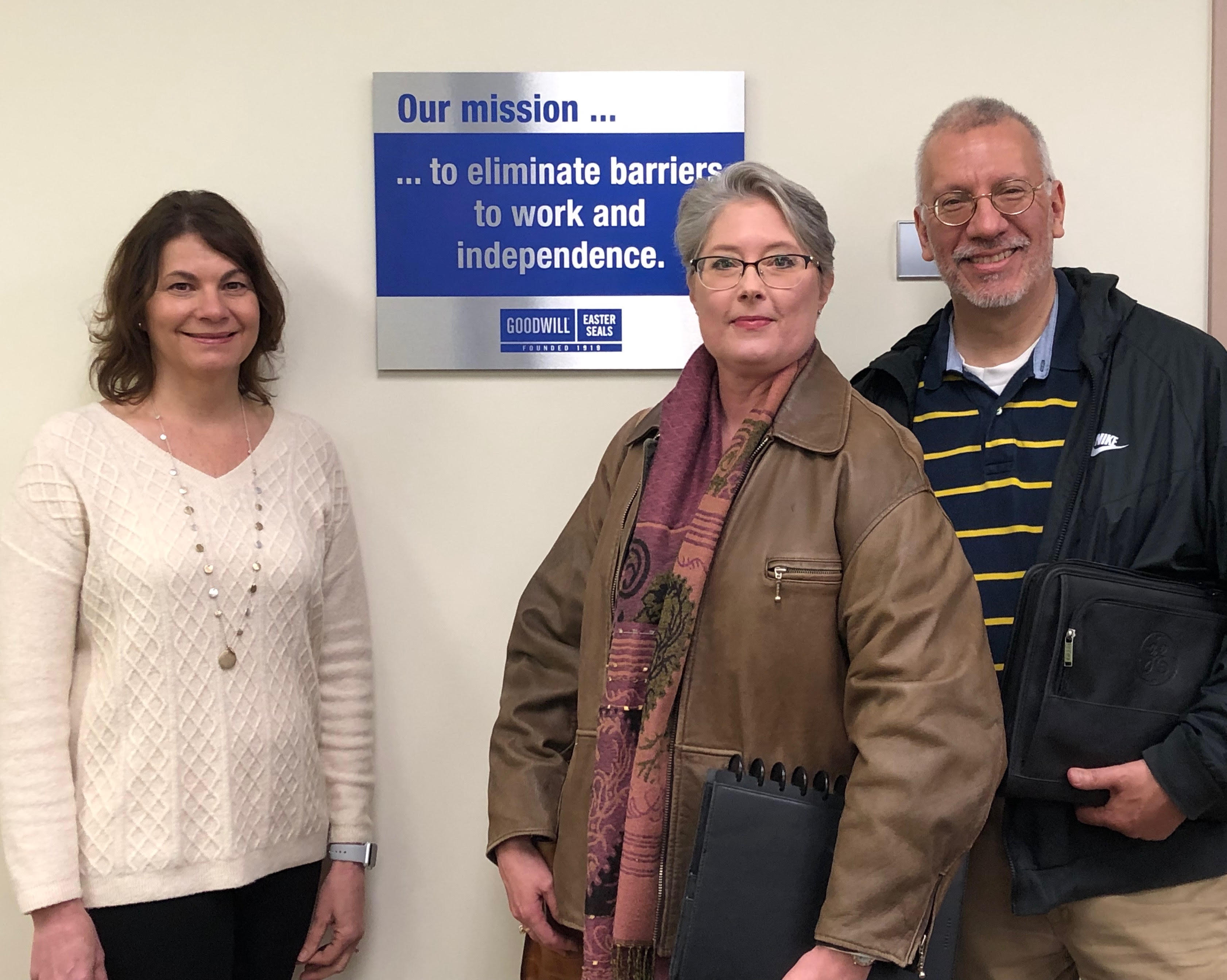 May 2019 meeting with Goodwill-Easter Seals Minnesota