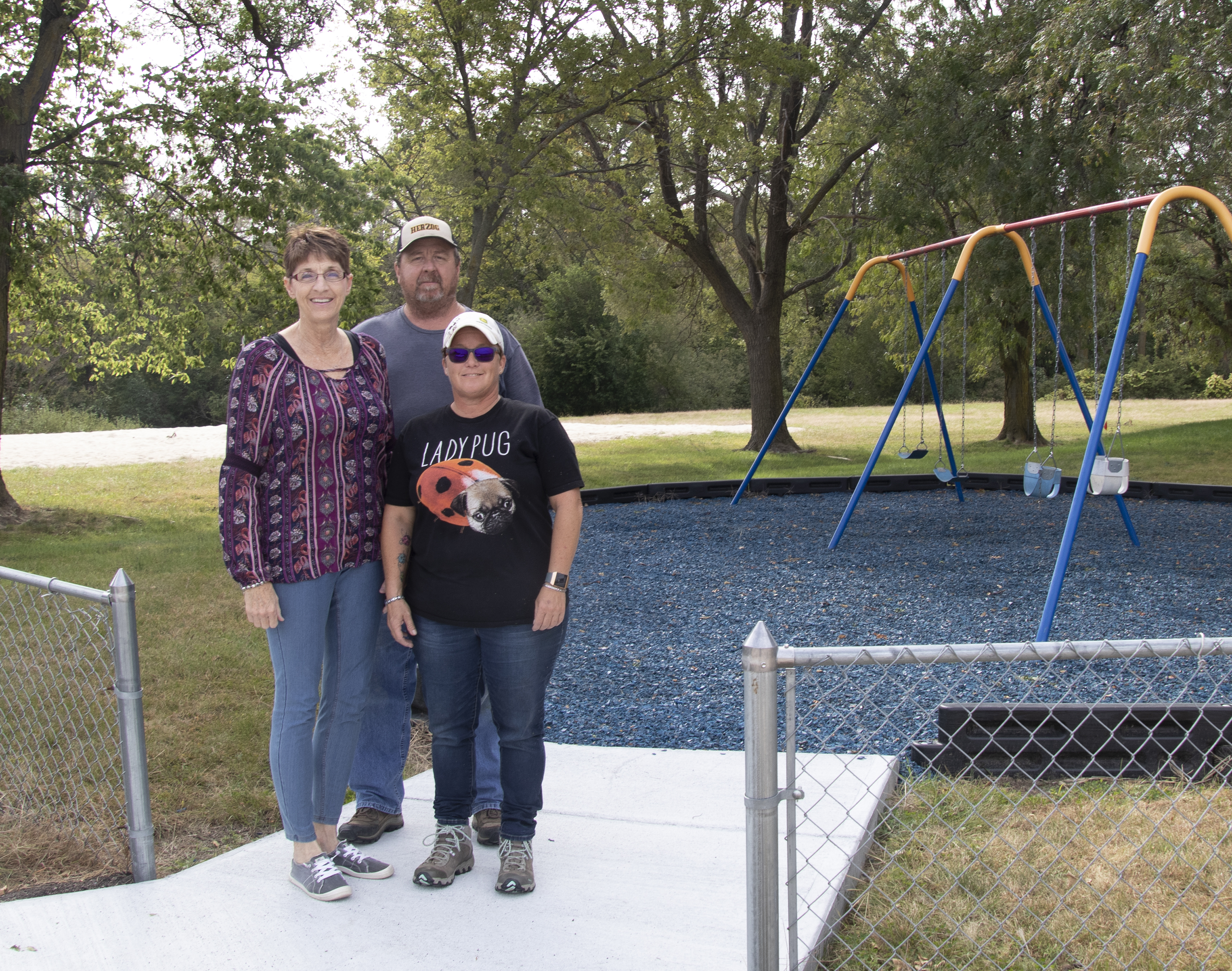 Ansley makes playground improvements with LARM grant
