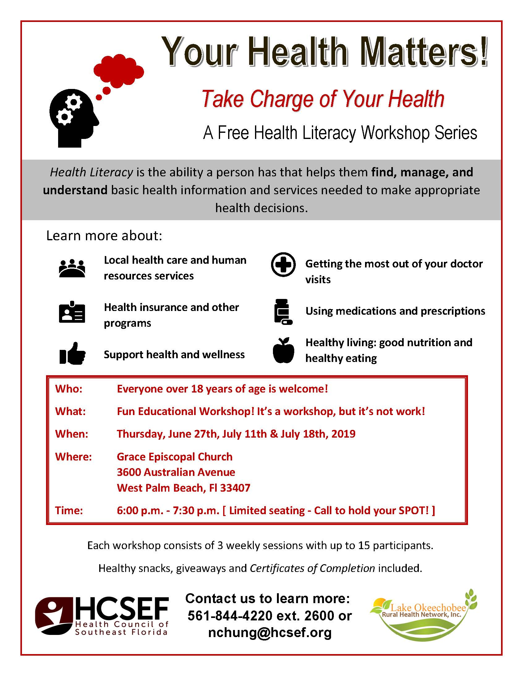 Your Health Matters!