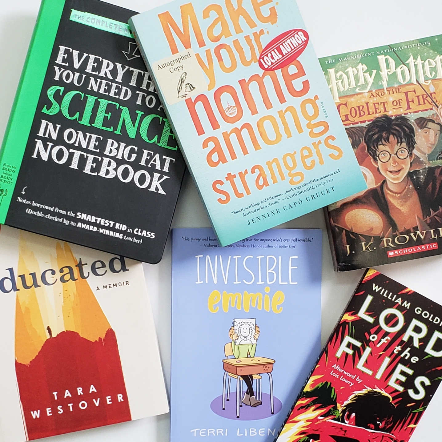 Indigo Staff Picks: Back-To-School Books