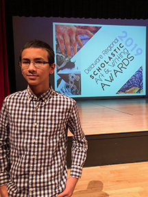 TJS EIGHTH GRADER WINS DELAWARE GOLD KEY AWARD FOR POETRY