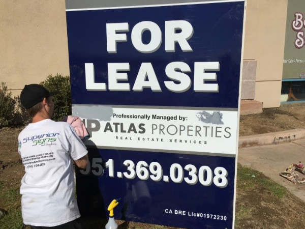 Graffiti-Proof Signs for Property Managers in Orange County CA