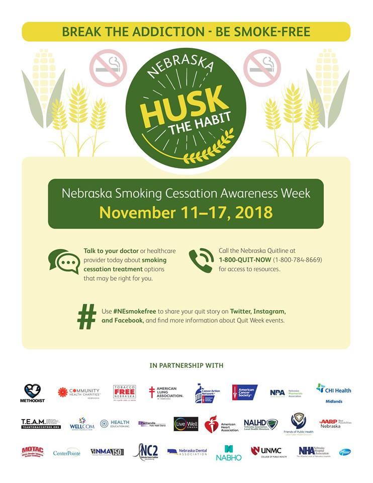 Nebraska Smoking Cessation Awareness Week