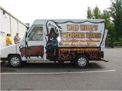 Custom Panel Truck Wrap