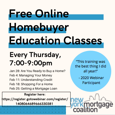 Free Online Homebuyer Education Classes