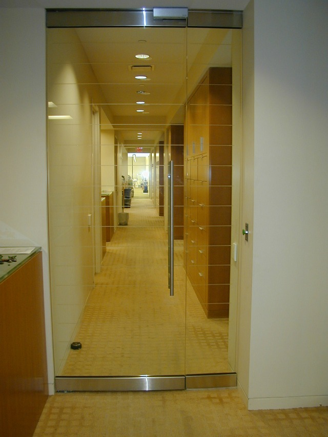 Privacy film| frosted glass vinylSignCrafters|Stamford, CT