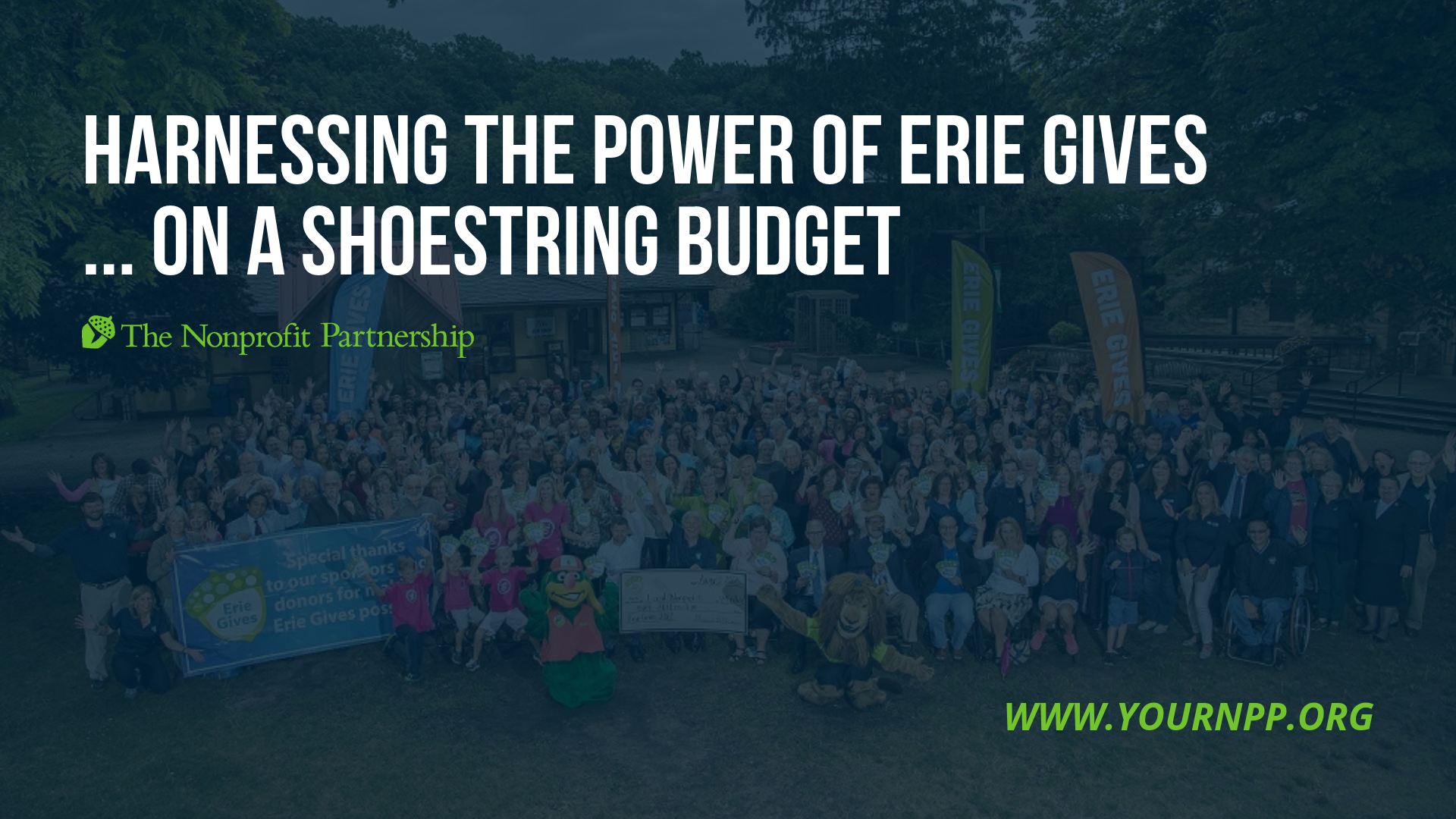 Harnessing the Power of Erie Gives... on a Shoestring Budget