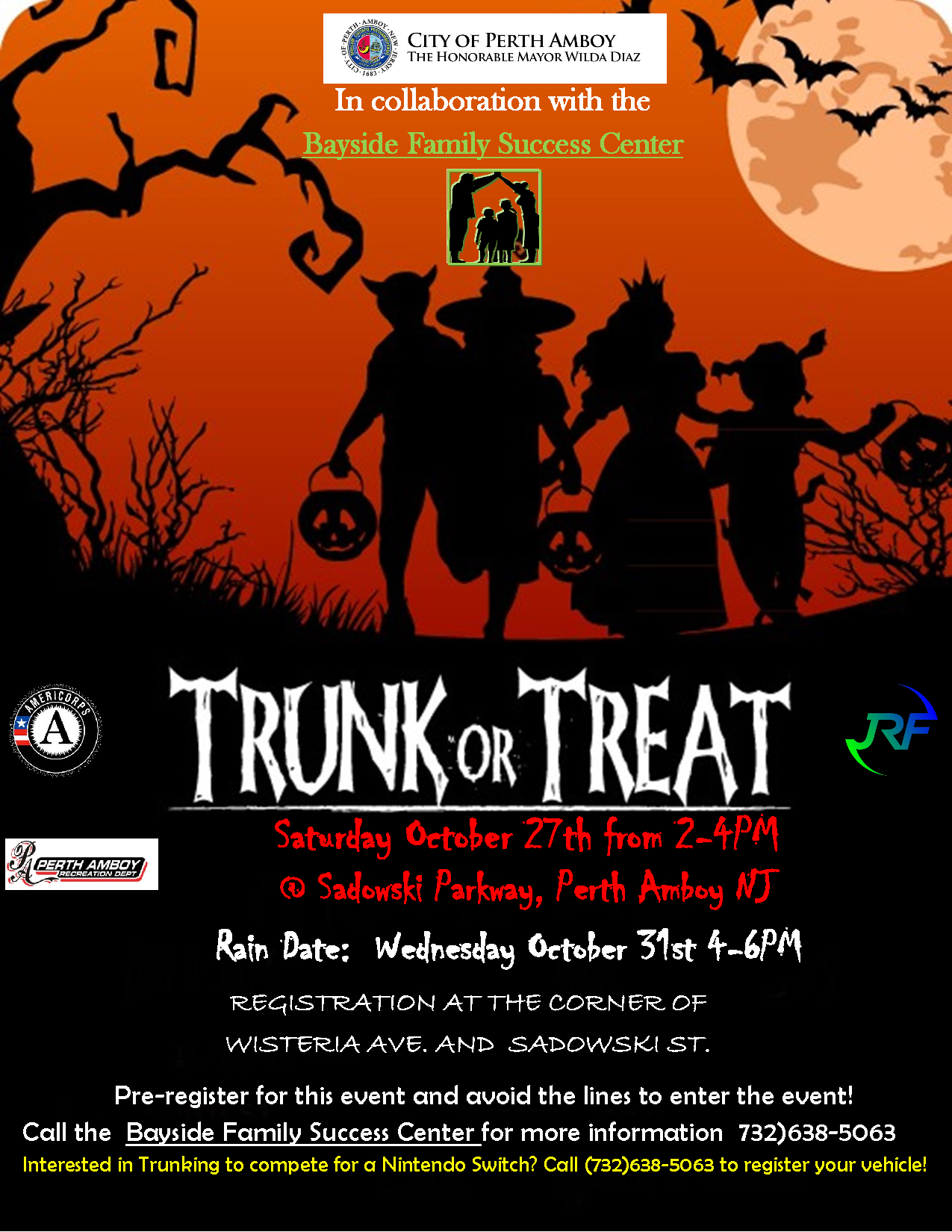 Trunk or Treat/ Judging Contest