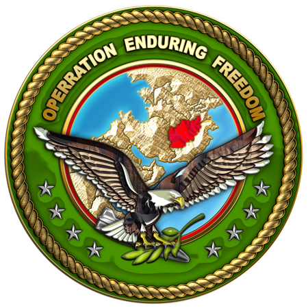 "2001: ""Operation Enduring Freedom"" Began."
