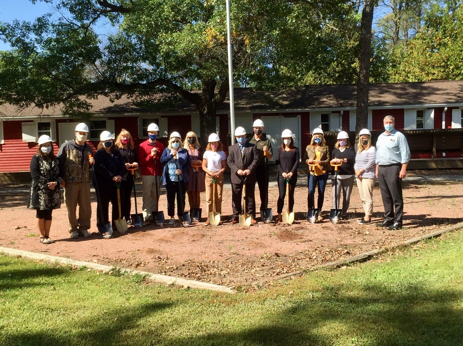 The Foundation holds ground breaking ceremony