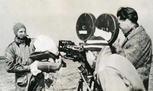 Parachute Battalion filming at Fort Benning