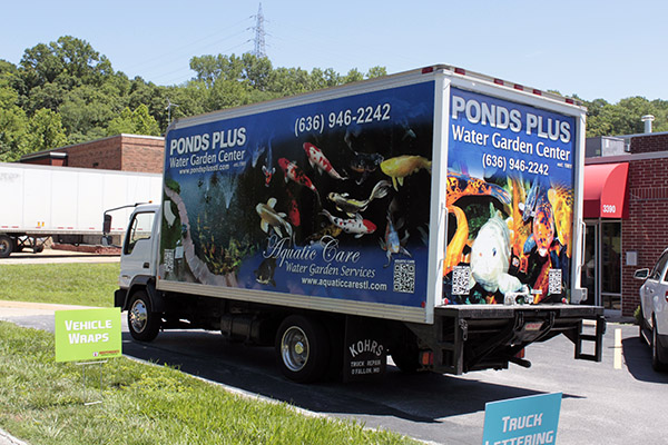 Ponds Plus Box Truck 1