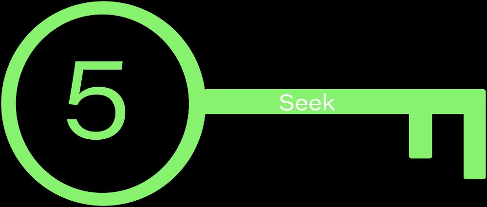 Key  5: Seek