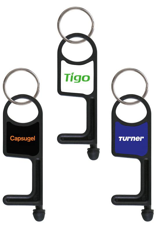 No-Touch Multipurpose Key Chain Economy