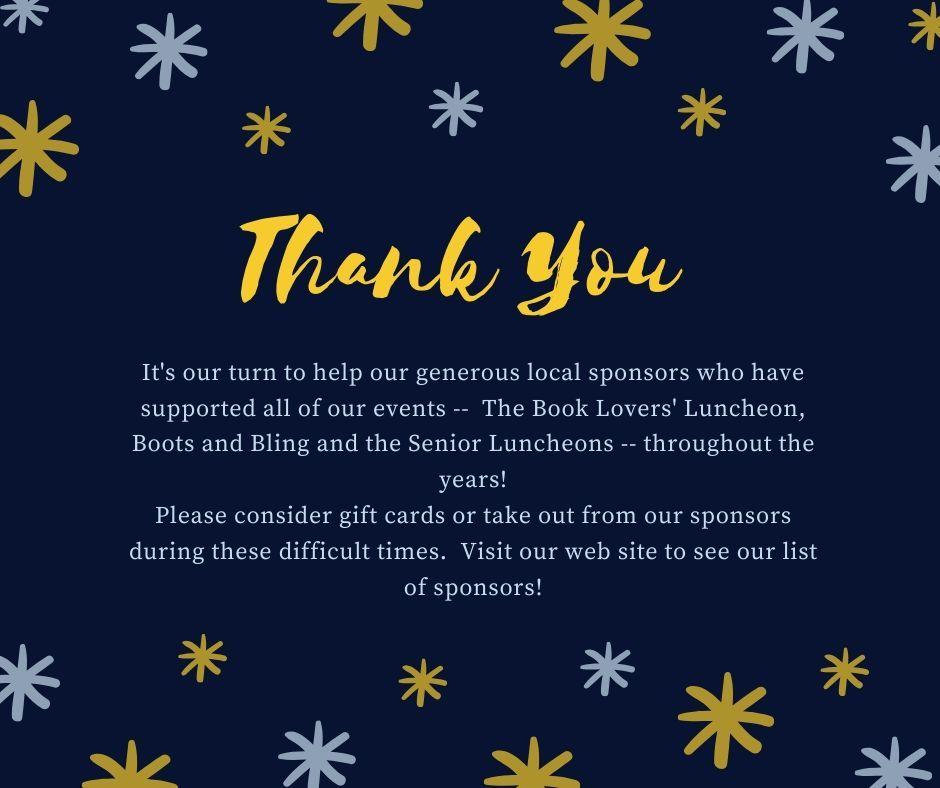 Thank You HVEF Sponsors!