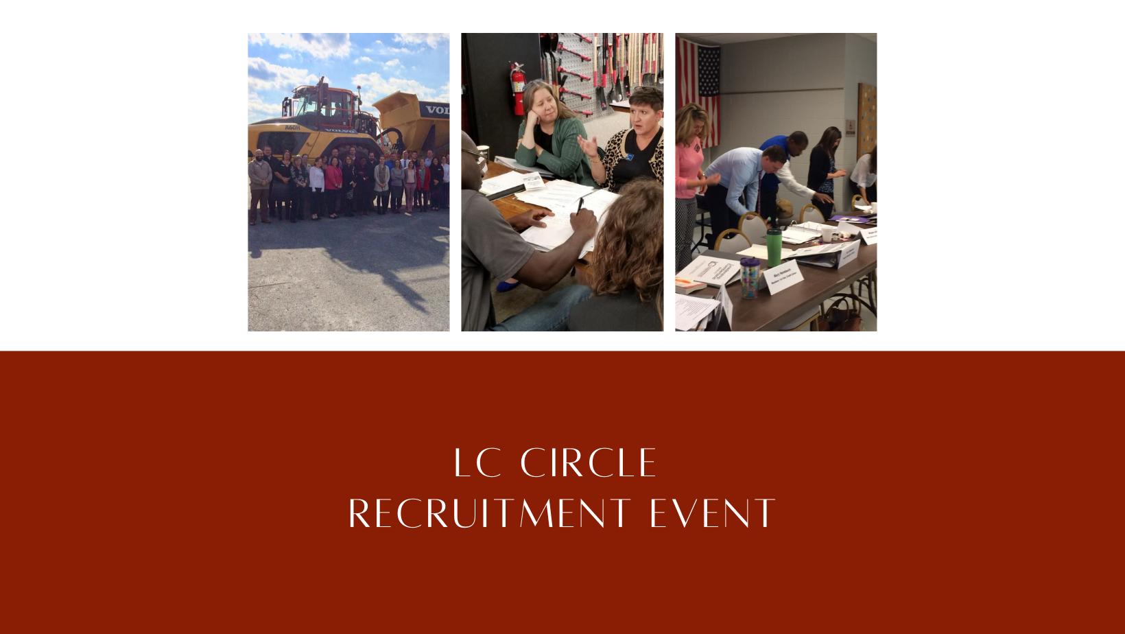 LC Circle: Recruitment Event