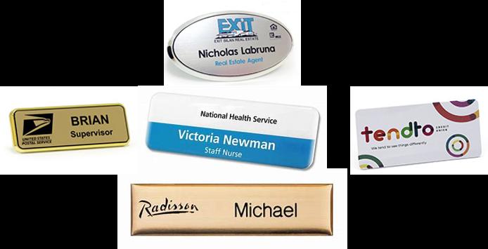 name badges custom name badges card printing custom print service