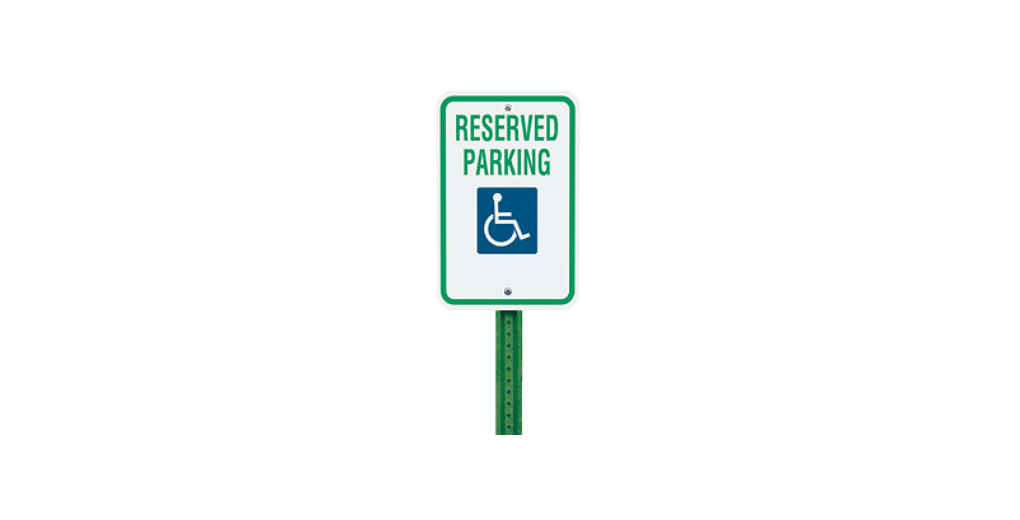 "12"" x 18"" Handicap Parking Sign"