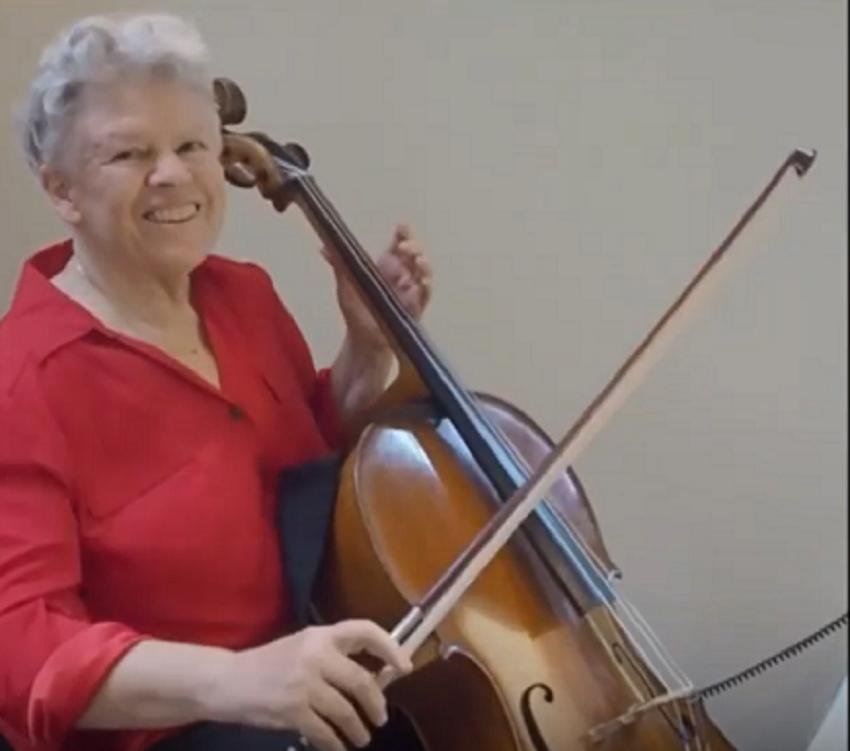 Barbara Johnston, Principal Cello