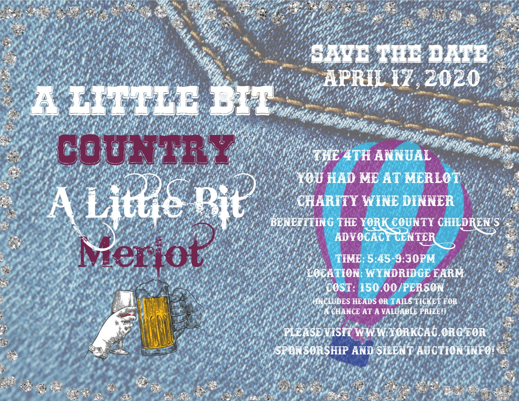 A Little Bit Country--A Little Bit Merlot:  Our 4th Annual Wine Dinner