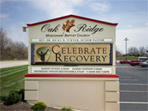 Oak Ridge Church Digital LED Signage