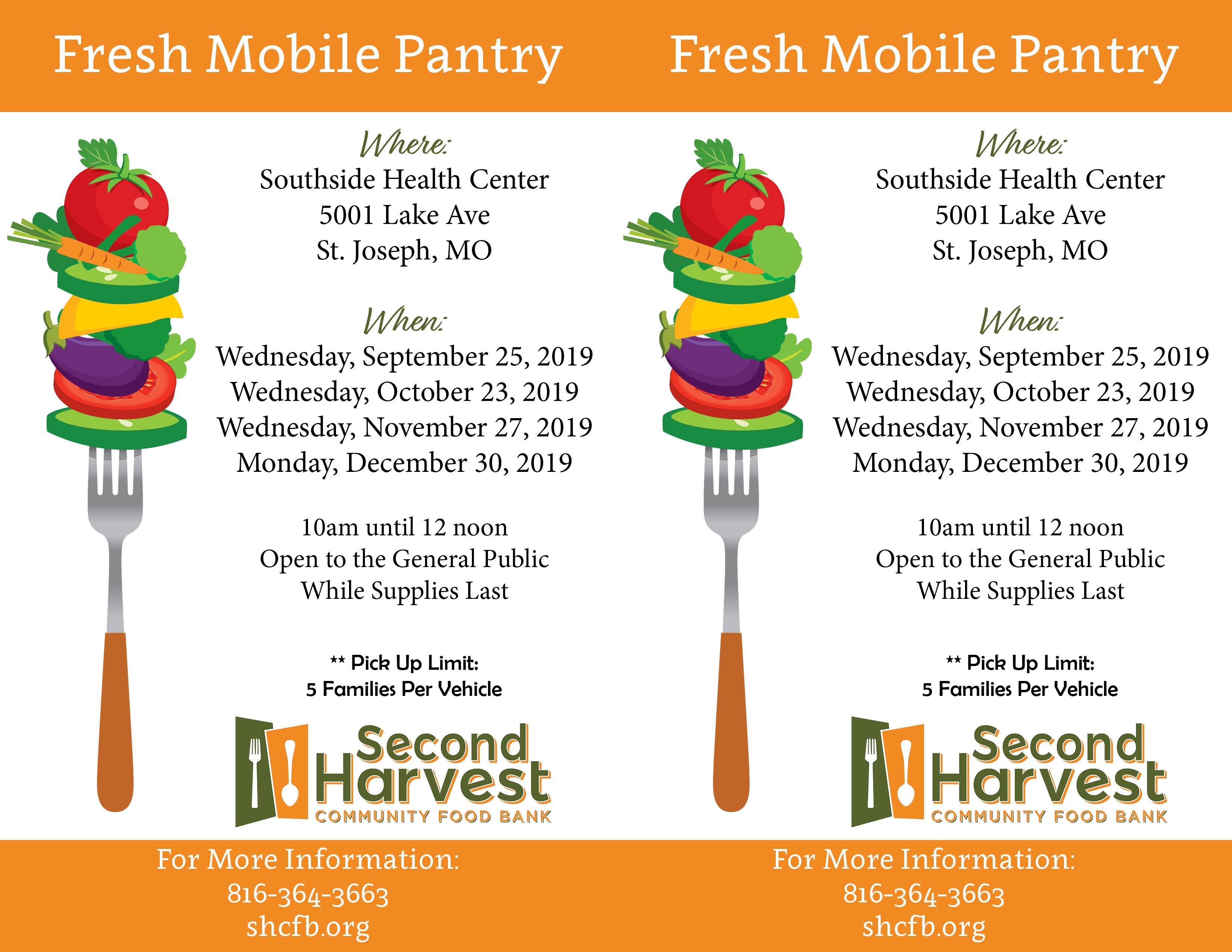 Southside St. Joseph Fresh Mobile Pantry